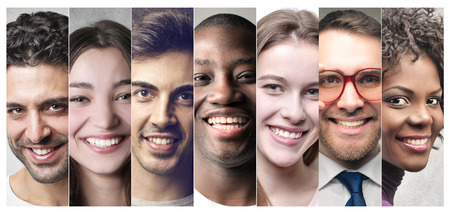 Foto per Smiling people - Immagine Royalty Free