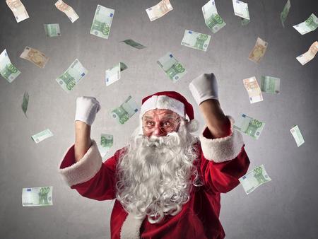 Foto de Rich Santa Claus - Imagen libre de derechos