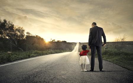Foto de On the same road - Imagen libre de derechos