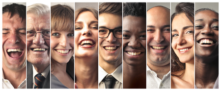 Foto per Happy people laughing - Immagine Royalty Free