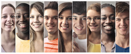 Photo for Teenagers smiling - Royalty Free Image