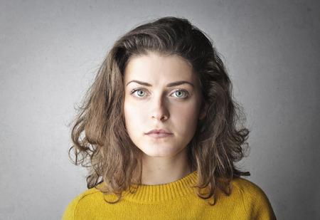 Foto de Portrait of a caucasian girl - Imagen libre de derechos
