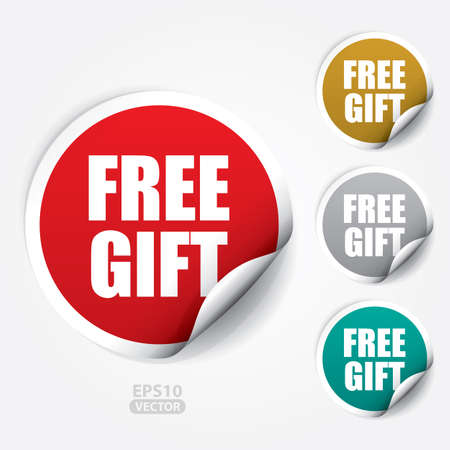 Free Gift ticker and Tag.