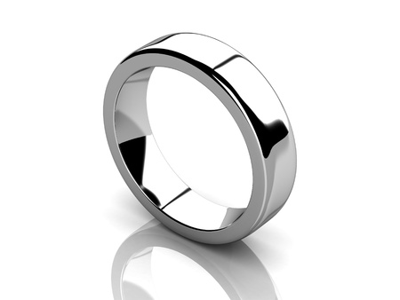Photo pour The beauty wedding ring   high resolution 3D image  - image libre de droit