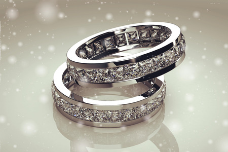 Photo pour Beautiful jewelry ring - image libre de droit