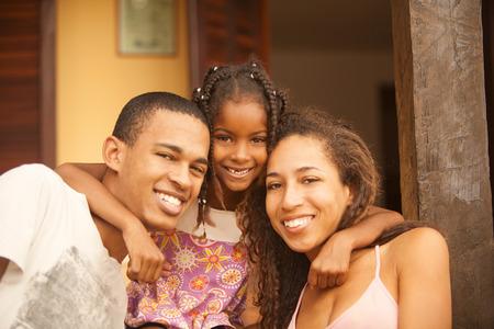 Foto de Happy african american family - Imagen libre de derechos