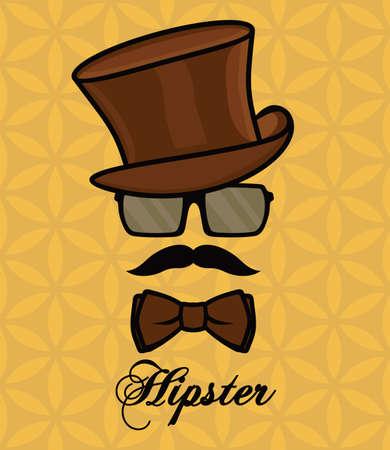 Ilustración de Hipster - Imagen libre de derechos