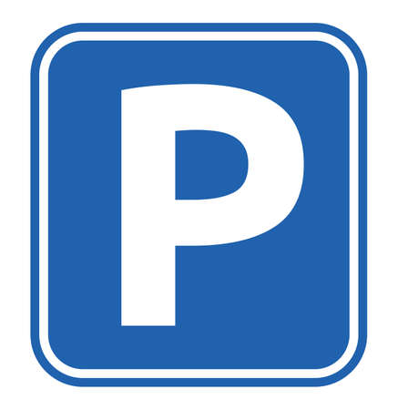 Illustration pour Parking Sign - image libre de droit