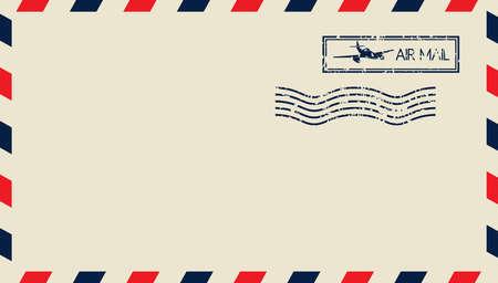 Illustration pour Airmail - image libre de droit