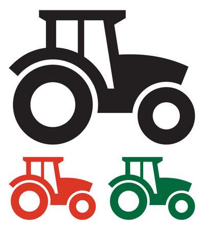 Illustration pour Tractor icon - image libre de droit