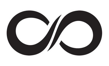 Ilustración de Infinity icon - Imagen libre de derechos