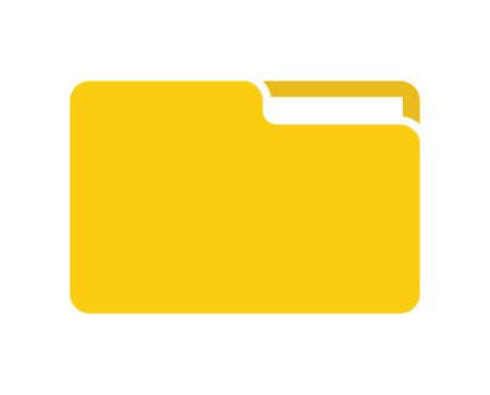 Ilustración de file folder vector icon - Imagen libre de derechos