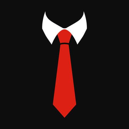 Illustrazione per Tie Vector Icon - Immagini Royalty Free