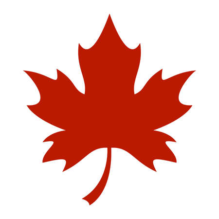 Maple Leaf Vector Icon
