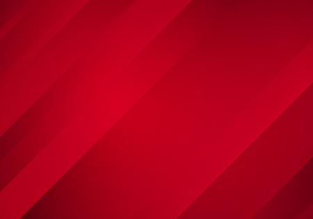 Illustration pour Abstract Red Background with Stripes. Vector Minimal Banner. - image libre de droit