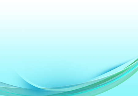 Photo pour Abstract background waves. White, grey and turquoise abstract background - image libre de droit