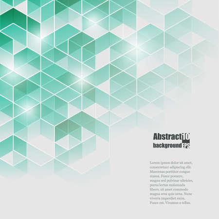 Illustration pour Abstract  background with geometric pattern. - image libre de droit
