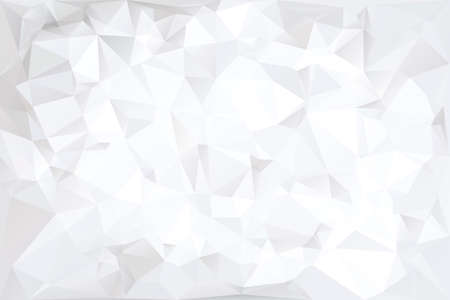 Illustration pour Off White Polygonal Abstract Background Illustration - image libre de droit