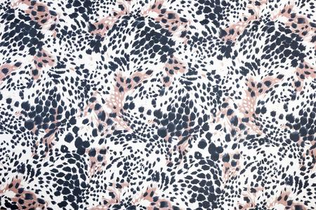 Photo pour Background or backdrop of black spotted animal fur print - image libre de droit