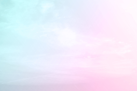 Photo for Abstract color pastel background, A soft sky with cloud background in pastel color - Royalty Free Image