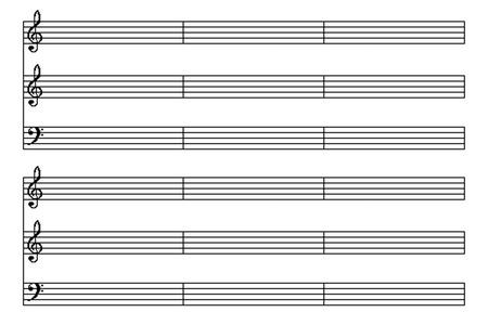 Photo pour music sheet - image libre de droit