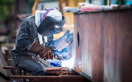 Foto de Welding work - Imagen libre de derechos
