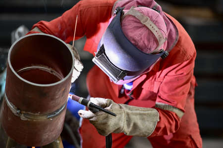 Photo for Pipe welding - Royalty Free Image