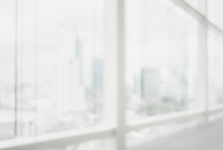 Foto de Blurred background : office and hallway interior - Imagen libre de derechos