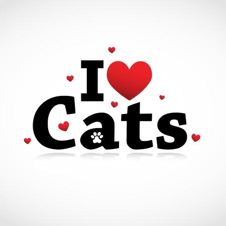 I Love Cats icon.