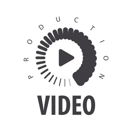 Illustration pour vector  loading to view the video - image libre de droit