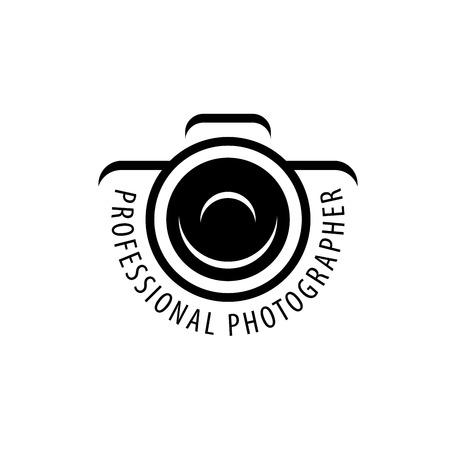 Ilustración de Vector logo template for a photographer or studio - Imagen libre de derechos