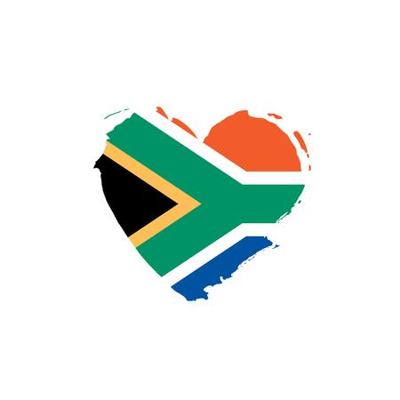 Illustration pour south africa flag, vector illustration on a white background - image libre de droit