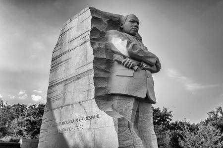 Foto de The monument to Dr Martin Luther King, Washington DC - Imagen libre de derechos