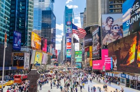 Foto de Times Square, New York - Imagen libre de derechos