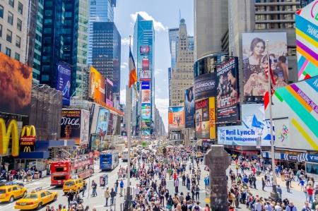 Photo pour Times Square, New York - image libre de droit