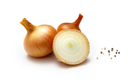 Photo for Organic onions isolated - Royalty Free Image