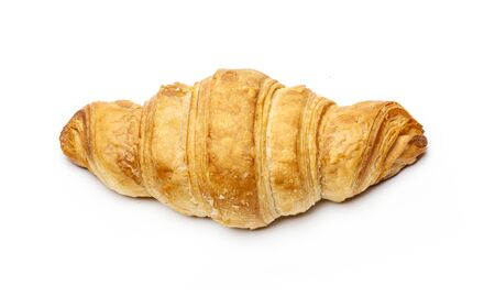 Photo for French croissant isolated on white background - Royalty Free Image