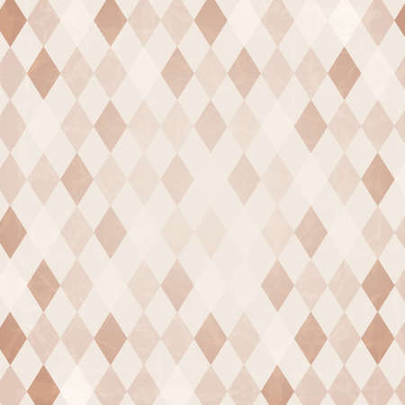 Illustration for Retro Harlequin Background, Vector Background - Royalty Free Image