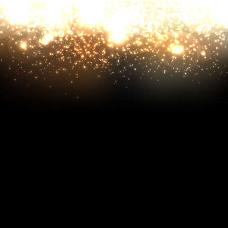 Gold Abstract Dark Elegant Background