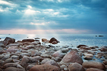 Photo for Rocky shores at the see - Royalty Free Image