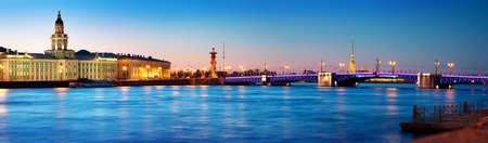 Photo for View of Saint Peterburg at night - Royalty Free Image