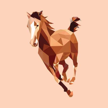 Illustration pour Horse - image libre de droit