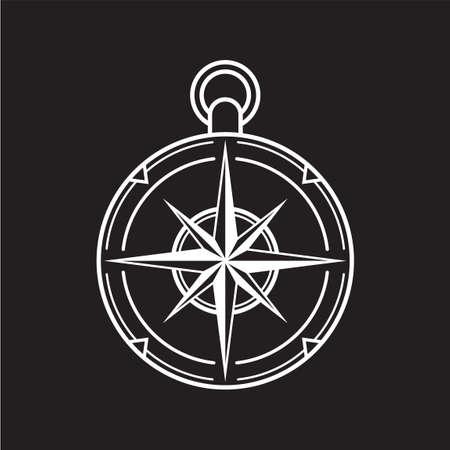 Ilustración de Compass - Imagen libre de derechos