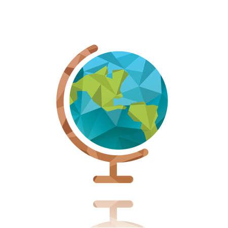 Illustration for Globe - Royalty Free Image