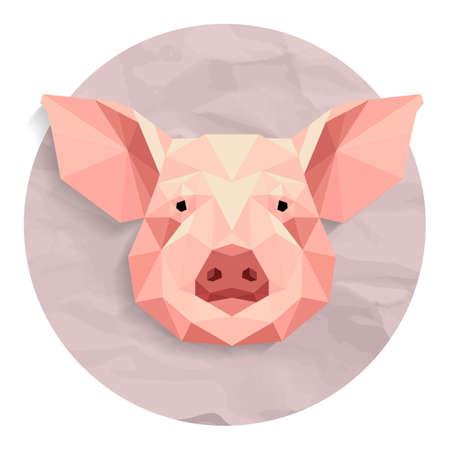 Ilustración de Pig - Imagen libre de derechos