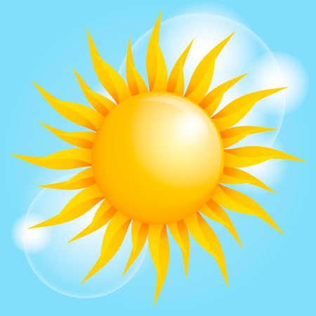 Illustration pour Sun - image libre de droit