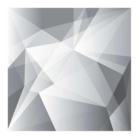 Illustration pour Abstract faceted background - image libre de droit