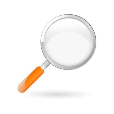 Illustration pour Magnifying glass - image libre de droit