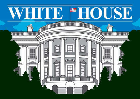 Illustration pour White house - image libre de droit
