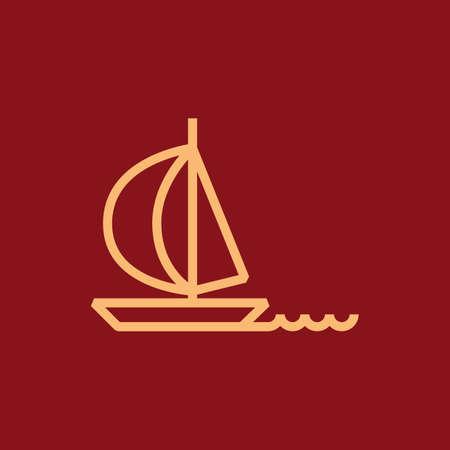 Ilustración de Sailboat - Imagen libre de derechos